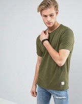 Converse Essentials Luxe T-Shirt in Green 10000658-A10