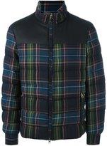 Etro tartan padded jacket