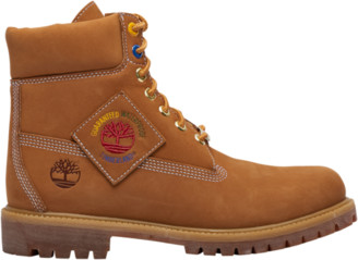 "Timberland 6"" Premium Waterproof Boots Outdoor Boots - Wheat"