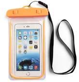 Riah Fashion Orange Water Proof Phone Bag