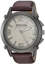 Kenneth Cole Reaction Men's 'Sport' Quartz Metal Casual Watch, Color:Brown (Model: 10030947)