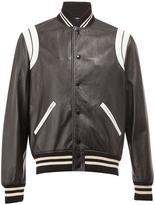 Saint Laurent monochrome teddy jacket