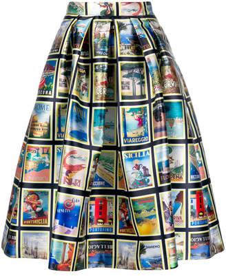 Dolce Vita Ultrachic Print Skirt