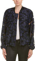 KENDALL + KYLIE Lace Bomber Jacket