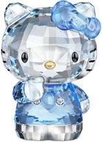 Hello Kitty Swarovski Collectible Figurine, Blue Bow
