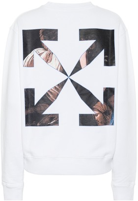 Off-White Caravaggio Angel cotton sweatshirt