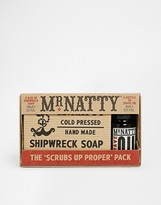 Mr Natty Shave Oil and Shipwreck Soap Set