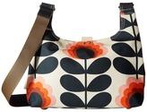Orla Kiely Summer Flower Stem Mini Sling Bag Handbags