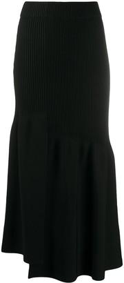 3.1 Phillip Lim Rib-Knit Midi Skirt