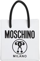 Moschino Mini Logo Shopping Nappa Leather Tote