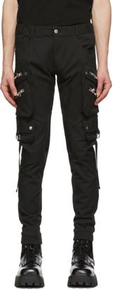 Faith Connexion Black Classic Cargo Pants
