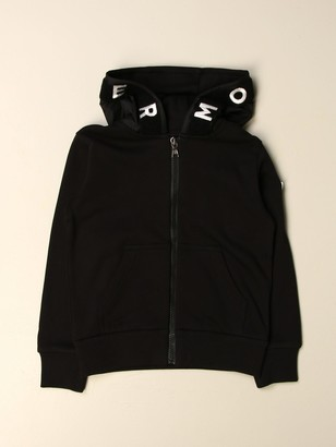 Moncler Sweatshirt With Ripstop Details And Logo