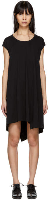 Y's Ys Black Flare Dress