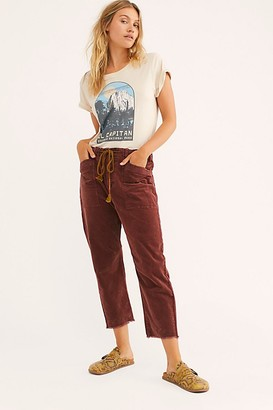 We The Free City Slouch Cord Pants by at Free People