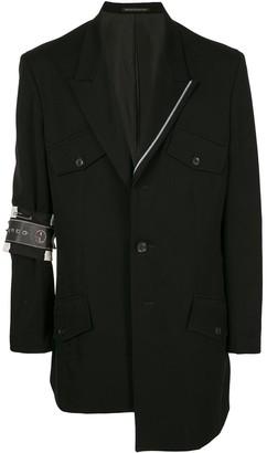 Yohji Yamamoto Arm-Badge Blazer