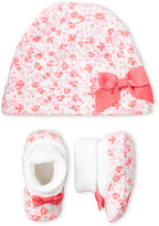 Kate Spade Newborn/Infant Girls) 2-Piece Cap & Bootie Box Set