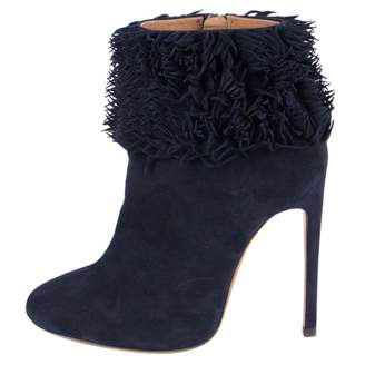 Alaia \N Blue Suede Boots