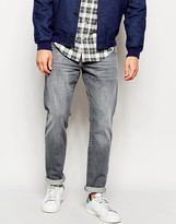 Esprit Washed Grey Jeans In Slim Fit - Grey