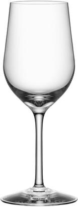 Orrefors Morberg Collection Set of 4 Crystal White Wine Glasses