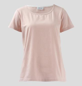 Wallace Cotton - Blossom Elsa Short Sleeve Tee - S - Pink