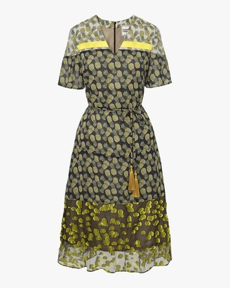 Autumn Adeigbo Heidi Printed Dress