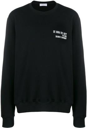 Ih Nom Uh Nit Logo Printed Sweatshirt
