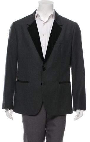 Dolce & Gabbana Velvet-Accented Virgin Wool Tuxedo Jackte w/ Tags