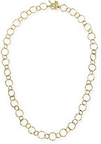"Armenta 18k Yellow Gold Circle Necklace, 18"""