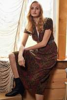 Urban Outfitters Charlotte Button-Down Midi Shirt Dress