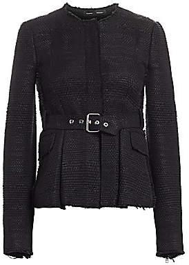 Proenza Schouler Women's Belted Tweed Jacket