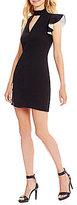 Gianni Bini Charlotte One-Shoulder Ruffle Dress
