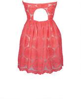 Delia's Strapless Organza Dress