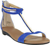 G.I.L.I. got it love it G.I.L.I. Leather T-strap Sandals w/ Hardware Detail - Kerri