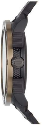 Diesel Gen 5 Full Display Gold Case Dial Black Silicone Strap Smart Watch