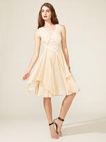 Z Spoke Zac Posen Chiffon Flutter Dress