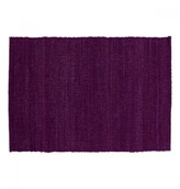 Mela Artisans Natural Elements in Purple Placemat
