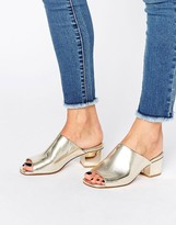 Asos HUGO Block Heeled Mules