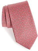 Salvatore Ferragamo Edo Print Silk Tie