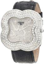 Swiss Diamond Swisstek SK57734L Limited Edition Watch With Genuine Crocodile Strap And Sapphire Crystal
