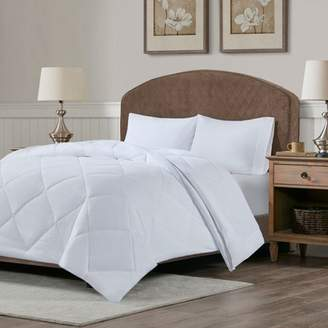 Nobrand No Brand Cooling and Warm Reversible Down Alternative Comforter White