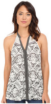 Brigitte Bailey Damaris Sleeveless Printed Top