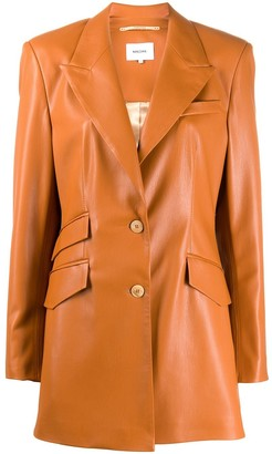 Nanushka Cancun vegan leather jacket