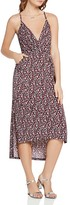 BCBGeneration Floral-Print High/Low Dress