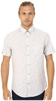Ben Sherman Short Sleeve Seaside Print Woven MA12431A