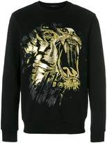 Billionaire tiger print sweatshirt