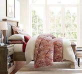 Pottery Barn Linden Bed and Extra-Wide Dresser Set
