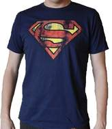 Bioworld Superman Logo Mens T-shirt XL