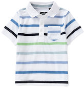 First Wave 12-24 Months Striped Polo Shirt