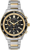 Citizen Men's Chronograph Sport Stainless Steel Bracelet Watch 43mm AT2126-56E, A Macy's Exclusive Style
