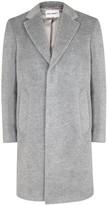 Our Legacy Light Grey Virgin Wool Blend Coat